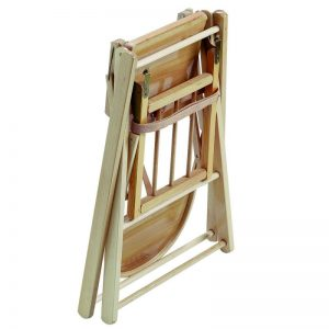 Chaise Haute extra pliante en bois