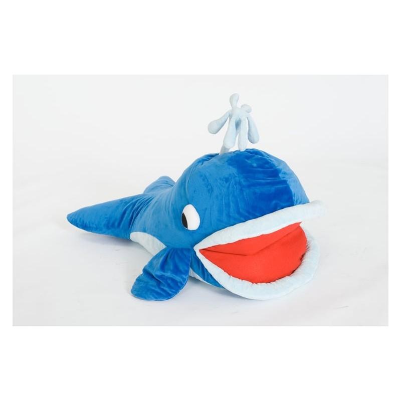 Coussin Moby la baleine