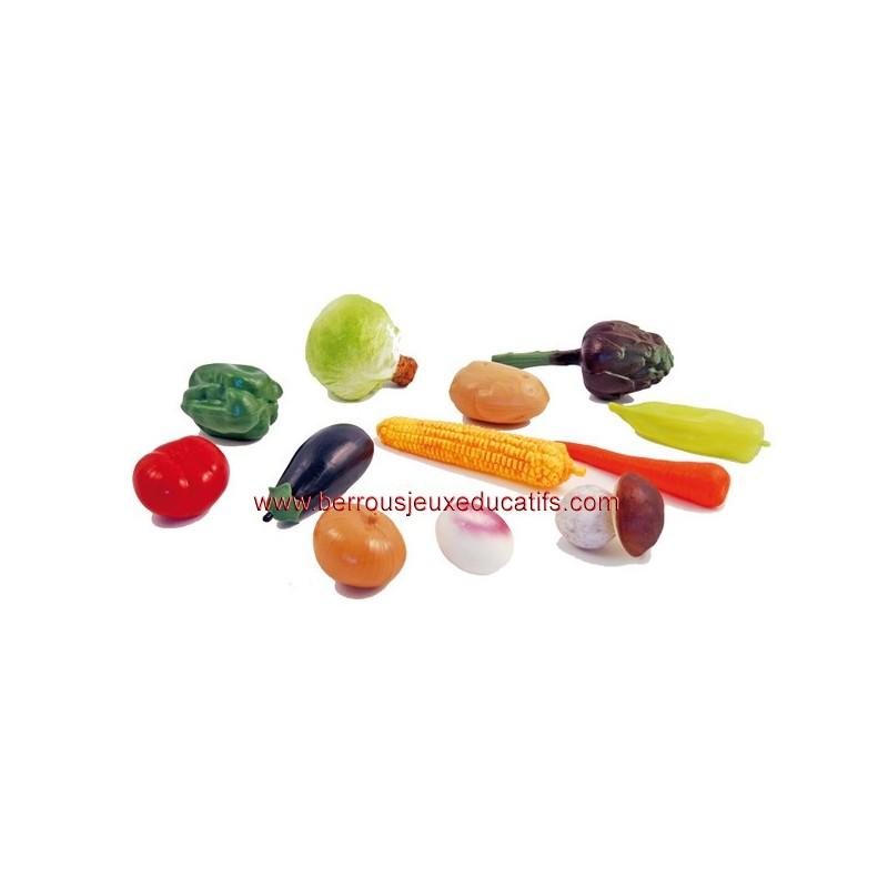Lot de 12 légumes
