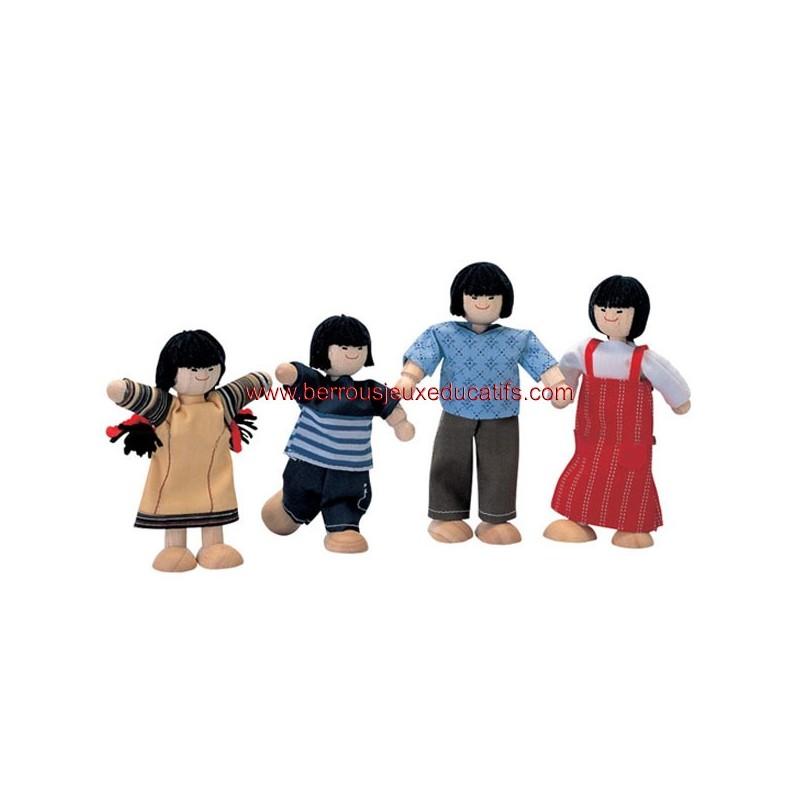 La famille Asiatique
