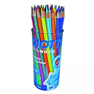 Pot de 48 crayons de couleurs