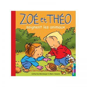 Zoé et Théo soignent les animaux