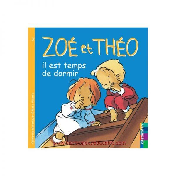 Zoé et Théo, il est temps de dormir