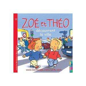Zoé et Théo découvrent la ville