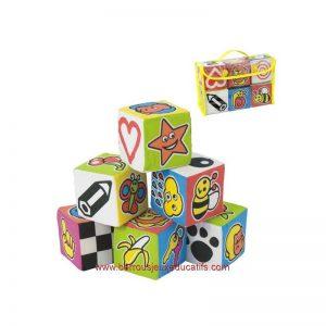 """Cubes souples """"les objets"""""""