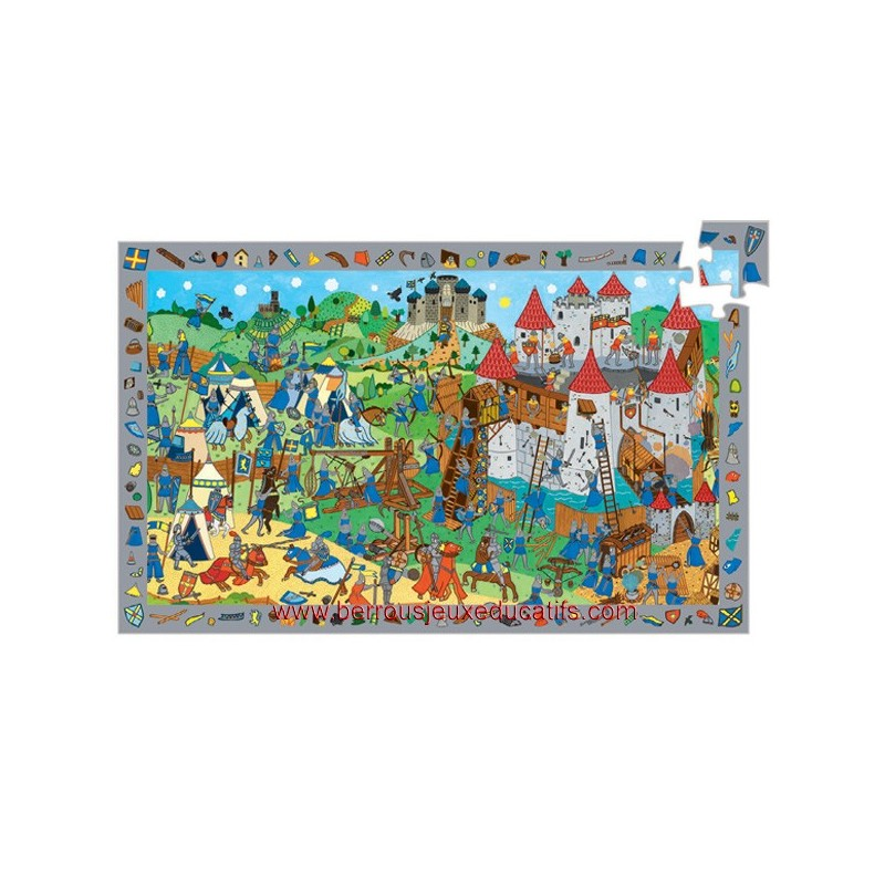 """Puzzle """" Les chevaliers """""""