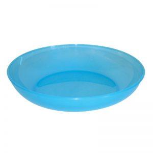 Assiette polypropylène uni - coloris aux choix