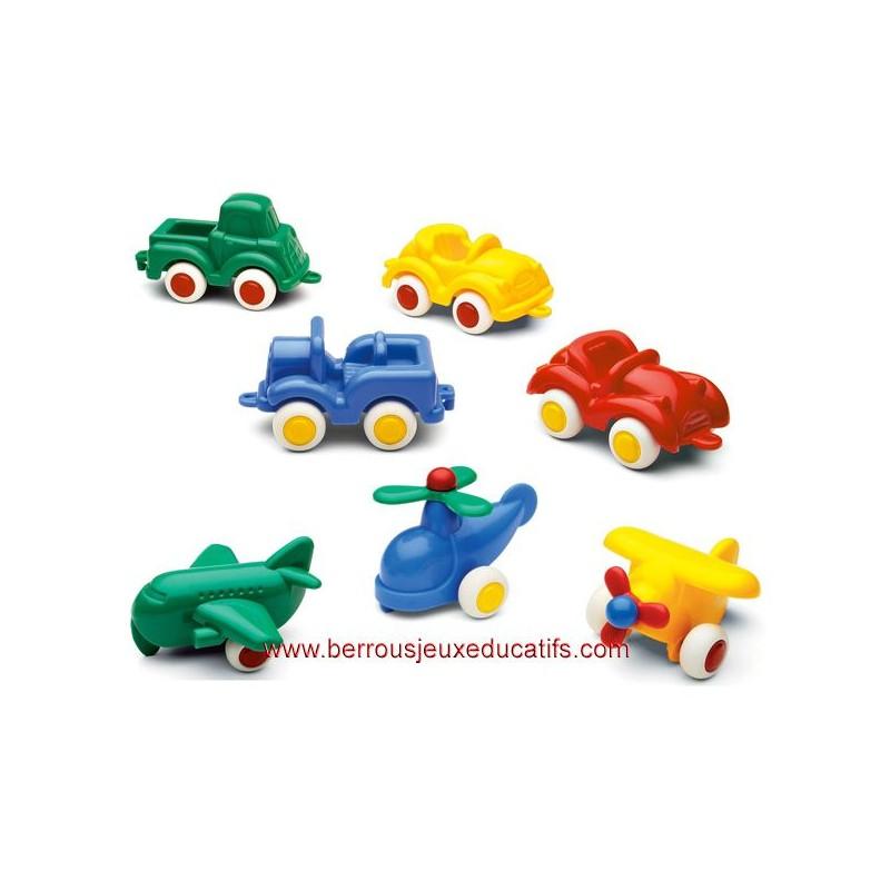 Lot 5 Mini BabyCars classiques