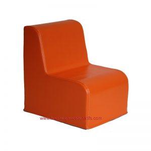 Chauffeuse droite - 25cm - Orange