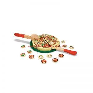 Pizza à couper