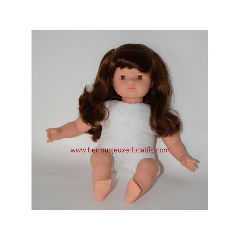 Poupon mou avec cheveux 40cm