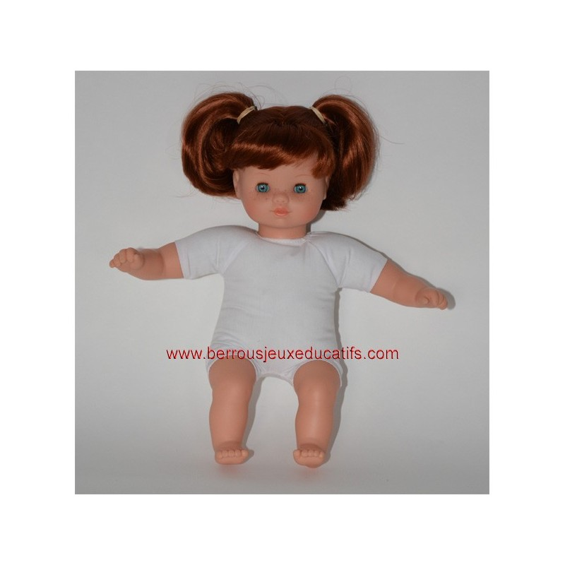 Poupon mou avec cheveux 30cm
