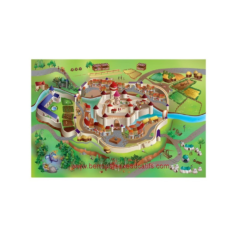 Tapis le château fort