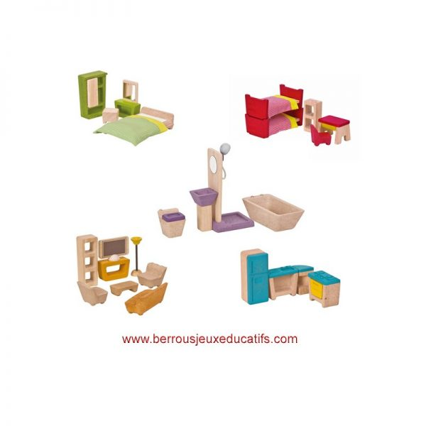 Maison chalet meublée