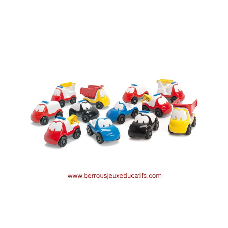 Lot de 12 fun cars