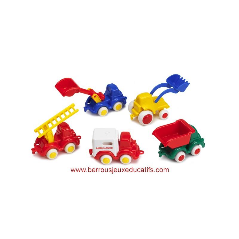 Lot 5 Mini Babycars utilitaires