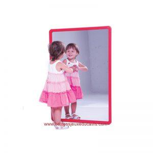 Miroir aluminium 100x65cm