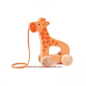 La girafe tir'roul