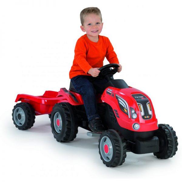 Tracteur + remorque