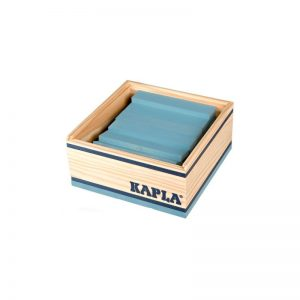 40 planchettes bleu clair
