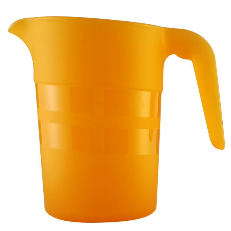 Pichet 1L empilable polypropylène uni ORANGE