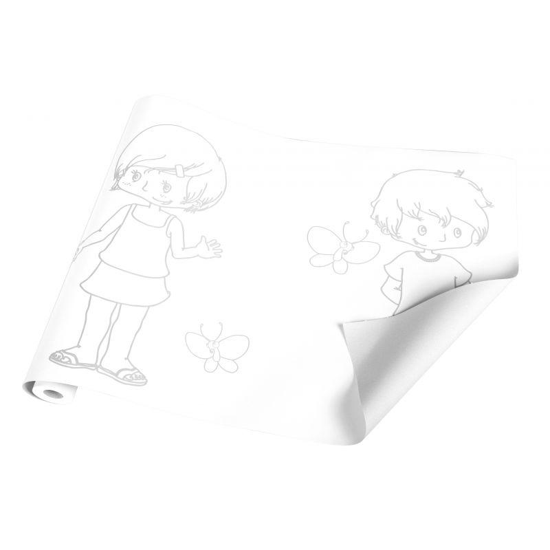 """Papier fresque """"les enfants"""""""