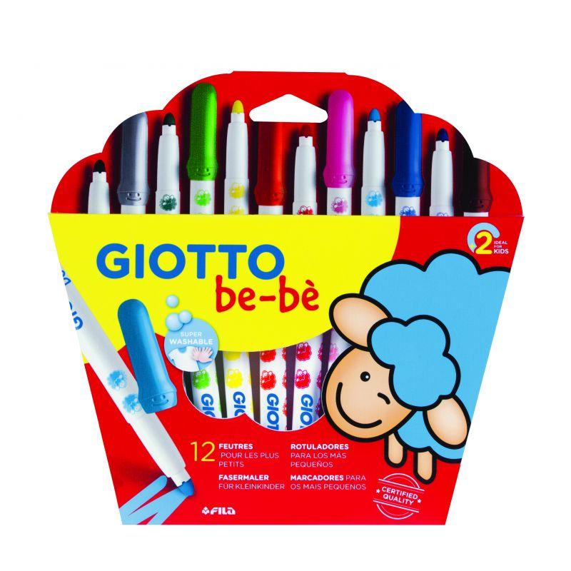 Lot de 12 feutres Giotto bébé