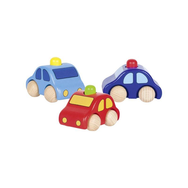 Lot de 3 voitures klaxon