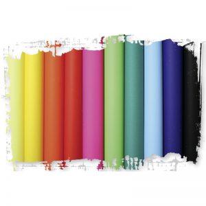 Papier à peindre coloré