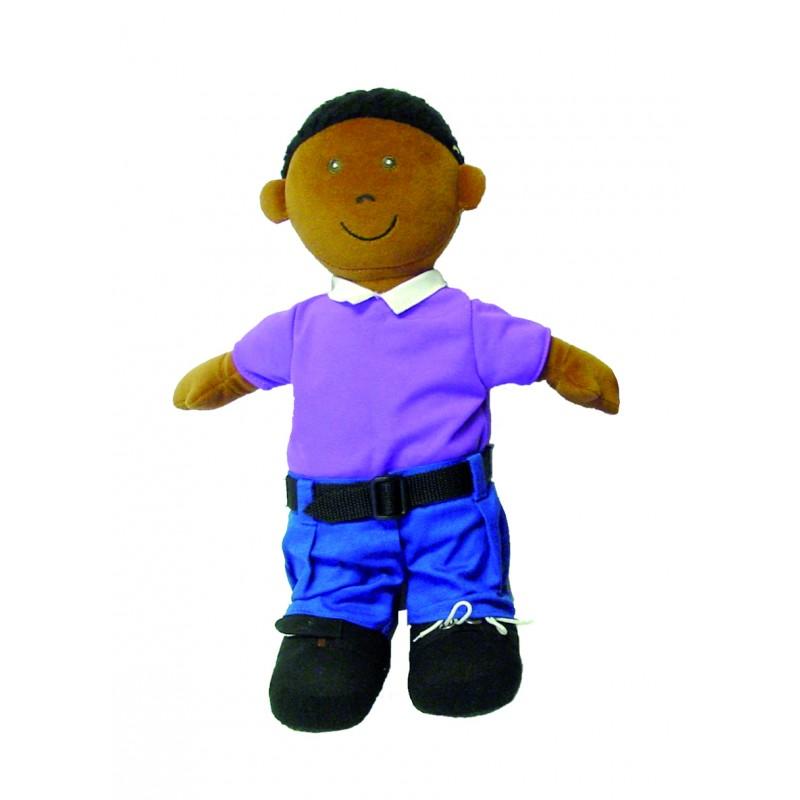 Poupées tissu garçon à habiller