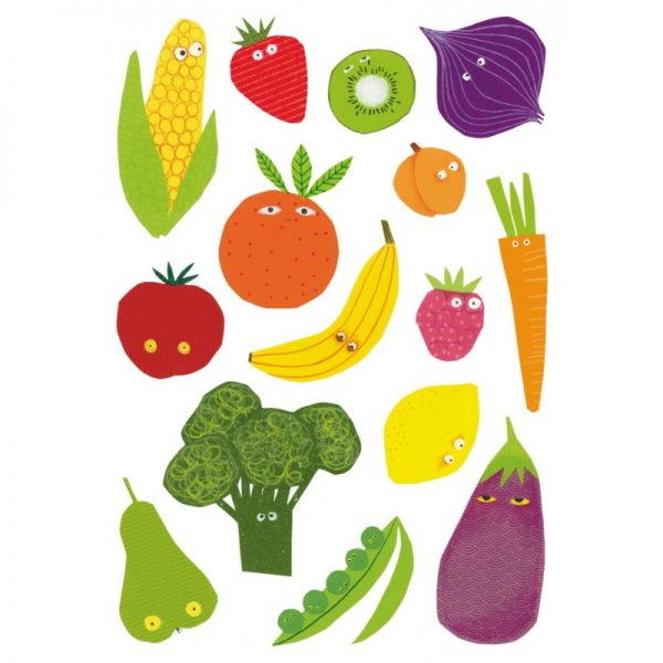 Coloriage Gommette Fruits Et Legumes.Gommettes Fruits Legumes Berrous Jeux Educatifs