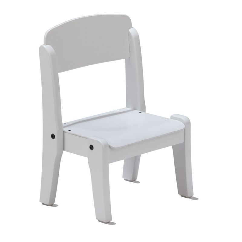 CHAISE BLANCHE EMPILABLE