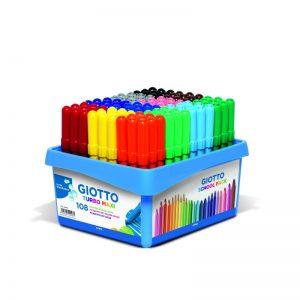 Schoolpack de 108 feutres Turbo maxi