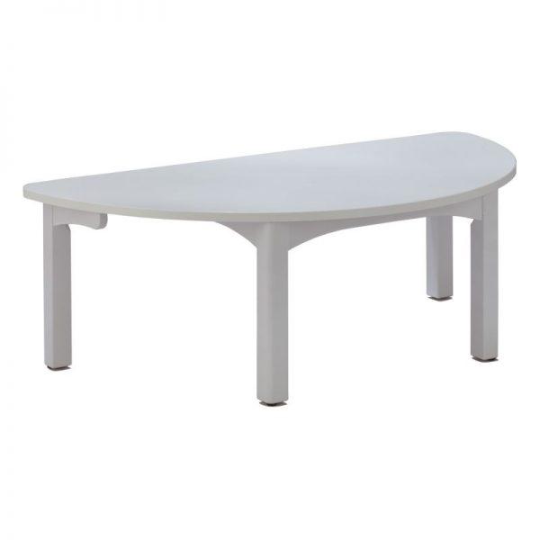 TABLE DEMI-LUNE 120x60cm TC